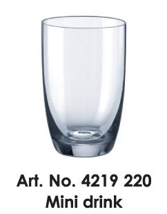 Pohár - Mini drink (Madison S034)