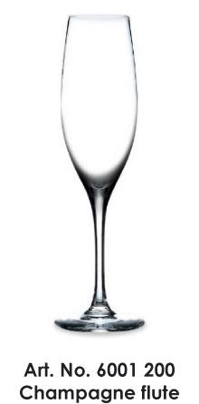 Champagne flute (City S008)