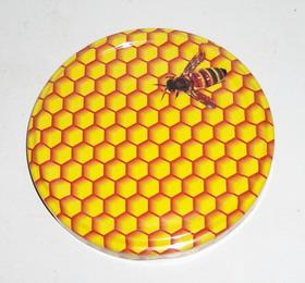 Viečko T.O. 82 potlač včielka malá