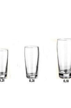 Výčapné sklo