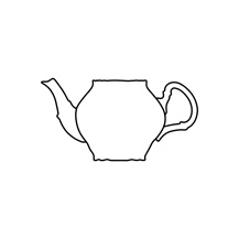 Konvica čajová 1200 ml