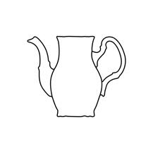 Konvica kávová 700 ml